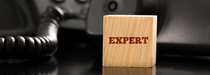 We Use Experts to Help Your Case