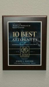 10 best estate planning attorneys award