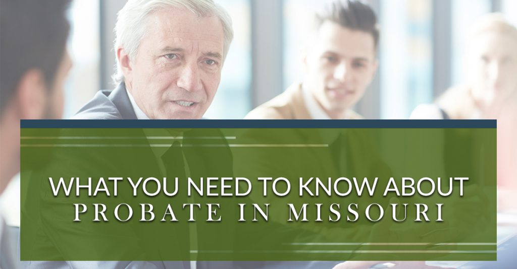 Probate in Missouri